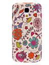 Piękny Wzór Flower Durable Hard Case do Samsung Galaxy Mini I9190 S4
