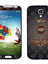 Imperial Korona Wzór VIP Sticker Korpus Samsung Galaxy S4 I9500