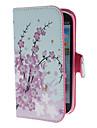 Mini Elegant Flower Pattern PU Skórzany pokrowiec ze statywem i gniazdo kart Samsung Galaxy S3 I9300