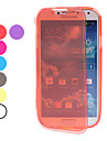 Transparent Miękka TPU Full Body Case do Samsung Galaxy S4 I9500 (różne kolory)
