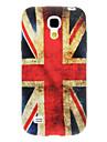 Vintage British Wzór flagi TPU pokrowiec do Samsung Galaxy Mini I9190 S4