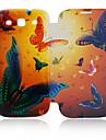 Skórzany pokrowiec Butterfly Samsung Galaxy S3 I9300
