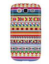 Kolorowy wzór graficzny gęsty twardy Obudowa ochronna skrzynka dla Samsung Galaxy S3 I9300