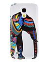 Wzór Elephant ochronne twarde plecy skrzynki pokrywa dla Samsung Galaxy S4 Mini I9190