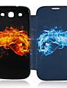 Na Samsung Galaxy Etui Etui Pokrowce Flip Wzór Futerał Kılıf Kreskówka Skóra PU na Samsung S3