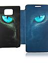 Eye Leopard Leather Case do Samsung Galaxy S2 i9100