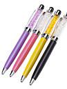 Kryształ Wypełniony dotykowy ekran o wysokiej czułości Stylus długopis dla iPhone / iPad i inne (różne kolory)