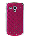 Wzór Diamante twarda Back Cover Case for Samsung Galaxy S3 Mini I8190