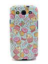 Cartoon Donut i róży wzoru TPU IMD Case do Samsung Galaxy S3 Galaxy I9300