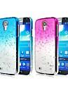 Kılıf Na Samsung Galaxy Samsung Galaxy Etui Transparentny Osłona tylna Przejście kolorów PC na S4 Mini