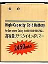 3.7V 2450mAh bateria litowo-jonowa do Samsung Galaxy S3 Mini i8190