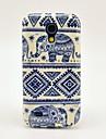 Na Etui Pokrowce Wzór Etui na tył Kılıf Słoń Poliuretan termoplastyczny na Samsung Galaxy S4 Mini
