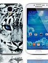 Tiger Wzór Walizka z 3-Pack zabezpieczeń do wyświetlacza Samsung Galaxy S4 I9500