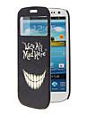 Śmieszne Zęby Wzór Pełna Sprawa ciała z okna dla Samsung S3