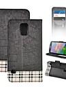 S5-Grid Angibabe Skórzane etui do Samsung Galaxy S5/i9600