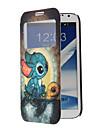 Wzór Pełna kreskówka Turtle Case ciała z okna dla Samsung Uwaga 2 (N7100)