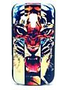 Krzyż zły wzór tygrysa Hard Case do Samsung Duos S7562 Galaxy Trend