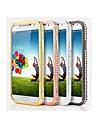 Kılıf Na Samsung Galaxy Samsung Galaxy Etui Kryształ górski Ramka ochronna Jednokolorowe Metal na S4