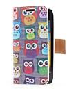 Sowy Style Leather Case z gniazda na kartę i Stand for Samsung Galaxy S Advance i9070