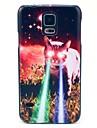 Rośnie oczu Kot Wzór Ciężka pokrywa dla Samsung Galaxy S5 I9600