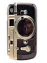 Wzór retro aparatu Tylna pokrywa twardy Case do Samsung Galaxy S3 Mini I8190