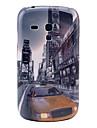 Samochód na wzór ulic Budowlanej twarda Back Cover Case do Samsung Galaxy S3 Mini I8190