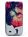 Człowiek i wzór Space Star twarda Back Cover Case do Samsung Galaxy Mini I9190 S4