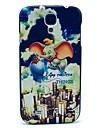 Wzór Dysk latający słoń Back Cover Case do Samsung Galaxy Mini I9190 S4