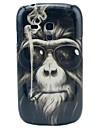 Nosić okulary z Orangutany Wzór PC Hard Case do Samsung Galaxy S3 Mini I8190