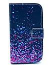 Na Samsung Galaxy Etui Portfel / Etui na karty / Z podpórką / Flip / Wzór Kılıf Futerał Kılıf Przejście kolorów Skóra PU Samsung Core