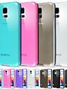 Kılıf Na Samsung Galaxy S5 Matowa / Półprzezroczyste Osłona tylna Solidne kolory TPU