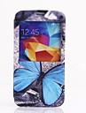 Blue Butterfly Wzór Pełna Sprawa Korpus Samsung S5 I9600
