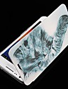Na Samsung Galaxy Etui Etui Pokrowce Flip Wzór Futerał Kılıf Kot Skóra PU na Samsung S2