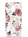 Kwiaty całym niebie wzór miękki futerał silikonowy dla Sumsang Galaxy S5Mini