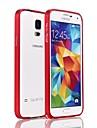 Na Samsung Galaxy Etui Odporne na wstrząsy Kılıf Bumper Kılıf Jeden kolor Aluminium Samsung S5