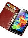 stylu retro książka pu skórzane etui do Samsung Galaxy s5 mini G800 portfelu