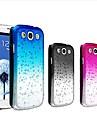 waterdrop kolor gradientu przejrzysty twarde etui do Samsung Galaxy S3 i9300 (różne kolory)