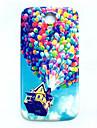 cienkie ciężka pokrywa balon wzór dla Samsung Galaxy s4 i9500