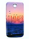 ciężka skrzynki pokrywa cienka lato plaża wzór dla Samsung Galaxy s4 i9500