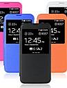 klapki PU skóra pokrywa dla Samsung Galaxy S5 9600 (różne kolory)