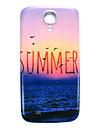 ciężka skrzynki pokrywa cienka lato plaża wzór dla Samsung Galaxy s4 mini i9190