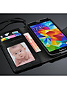 fashion® szlachetna sprawa portfel pokrywa z gniazda karty dla Samsung Galaxy S5 i9600