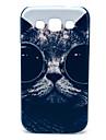 Kot w okularach wzór twarde etui do Samsung Galaxy nagrodę I8552