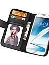 miękkie w dotyku portfel pu skórzane etui do Samsung Galaxy Note 2 n7100