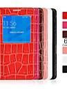 angibabe krokodyla wzór klapki skórzane etui z widokiem na okna do Samsung Galaxy dobrane alfa g8508s (kolor)