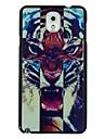 ryk tygrysa wzór szt mocno plecy skrzynki pokrywa dla Samsung Galaxy Note 3
