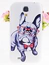 psy cyrkon wzór przetłoczeń Case Powrót do Samsung Galaxy s4 i9500