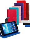 Kılıf Na Samsung Galaxy Express 2 Etui na karty / Z podpórką / Flip Pełne etui Solidne kolory Skóra PU
