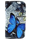 Kılıf Na Samsung Galaxy Samsung Galaxy Etui Etui na karty Portfel Z podpórką Flip Wzór Motyl na