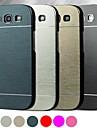 df® luksusowych wysokiej jakości szczotkowanego aluminium kolorem ciężko etui do Samsung s3 i9300 (dobrany kolor)